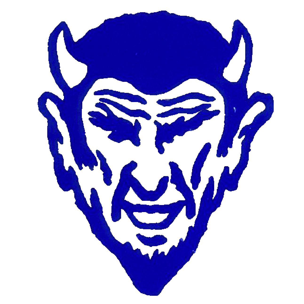 Blue Devil Logo Cleaned
